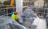 Installation Of New Carter Buckingham Cooling Tower